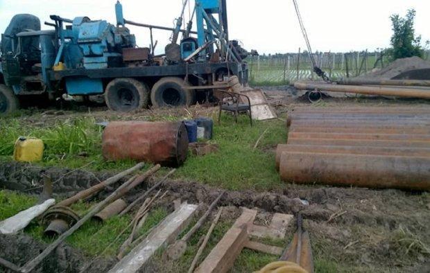 شروع عملیات اجرایی حفر چاه جدید در شهر دیشموک