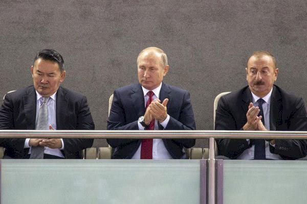 تماشاگران روز پایانی جهانی جودو ، از پوتین و علی اف تا رقیب عسگری محمدیان