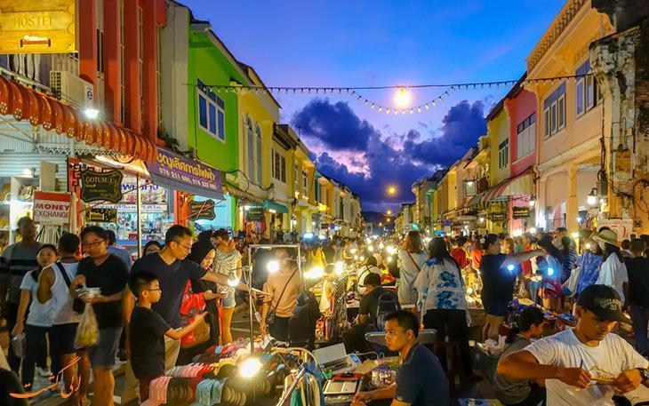 معرفی بهترین مکان ها برای خرید سوغاتی در پوکت، تایلند