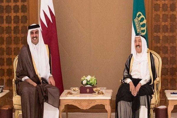محتوای دستخط امیر قطر برای شیخ صباح چه بود؟
