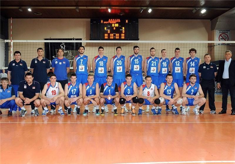آمادگی ایتالیا و صربستان برای حضور در لیگ جهانی والیبال