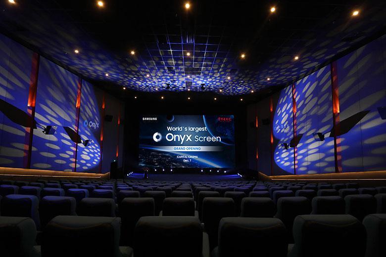 سامسونگ بزرگ ترین صفحه نمایش LED جهان به اندازه 14 متر را در سینمای پکن چین نصب کرد