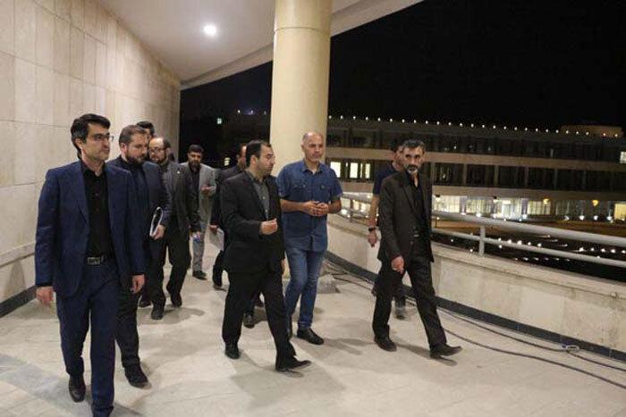 بازدید رئیس مرکز ارتباطات شهرداری تهران از پروژه های شهرری