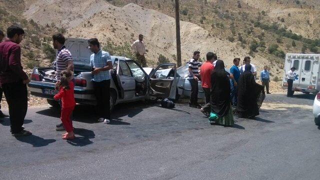 6 کشته و 20مصدوم بر اثر حادثه رانندگی در محور سراوان