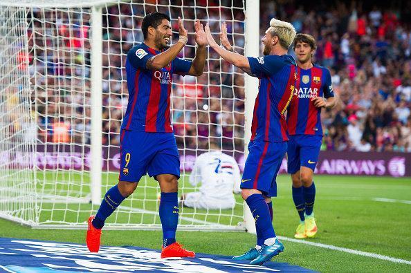 قهرمانی بارسلونا در جام خوان گامپر و پیروزی میلان در دیداری محبت آمیز