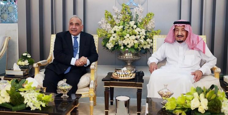 نخست وزیر عراق با شاه سعودی دیدار کرد