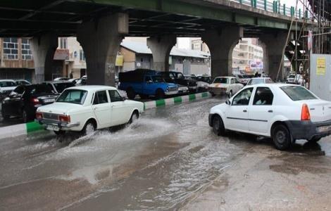 گزارش شهرداری درباره علت آبگرفتگی های تهران در بارش های اخیر ، طراحی حوضچه های زباله گیر