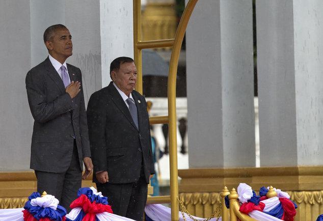 اوباما در لائوس: سیاست خارجی آمریکا ایفای نقش پررنگ تر در منطقه آسیا- اقیانوسیه است