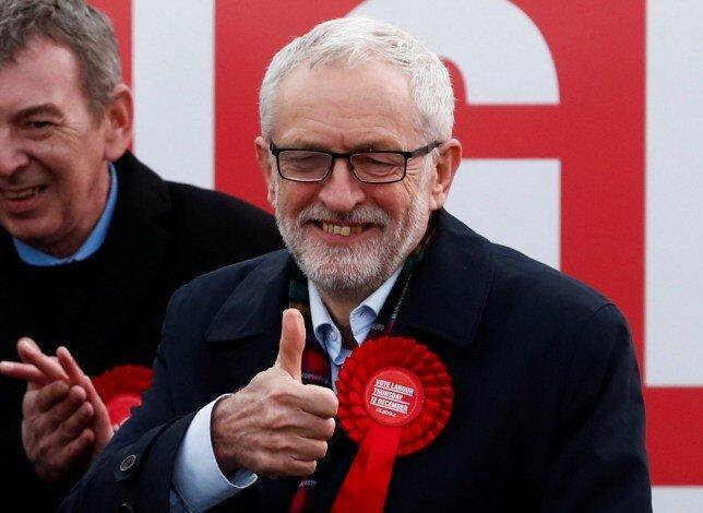 شرکت جرمی کوربین در انتخابات انگلیس، عکس