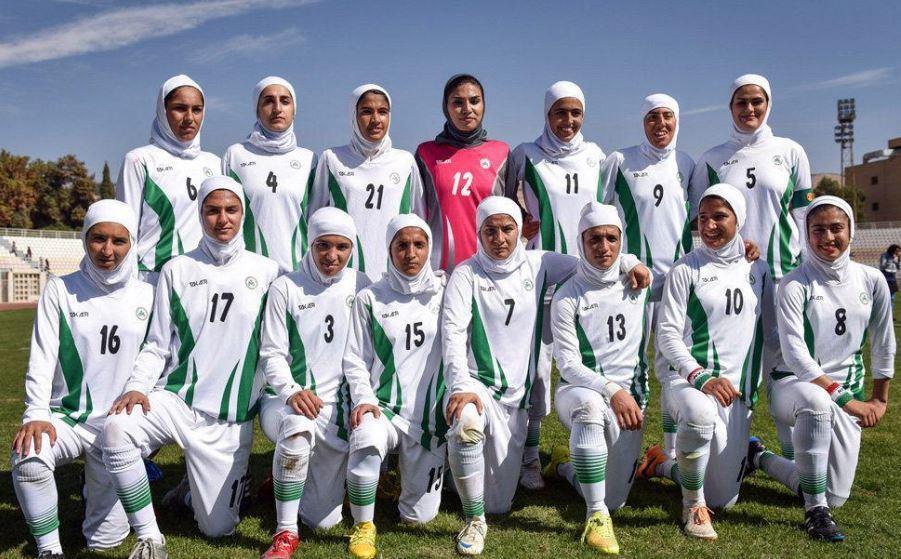 سقوط 4 پله ای دختران فوتبالیست ایران در رنکینگ فیفا