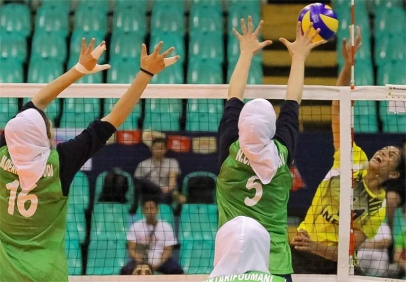 تیم های راه یافته به نیمه نهایی والیبال زیر23 سال بانوان آسیا معین شدند