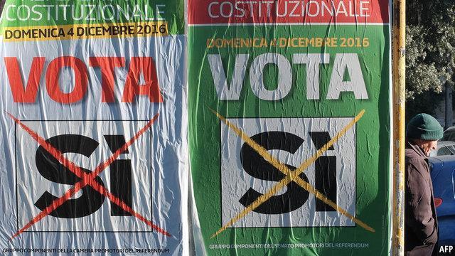 رفراندوم سرنوشت ساز قانون اساسی ایتالیا