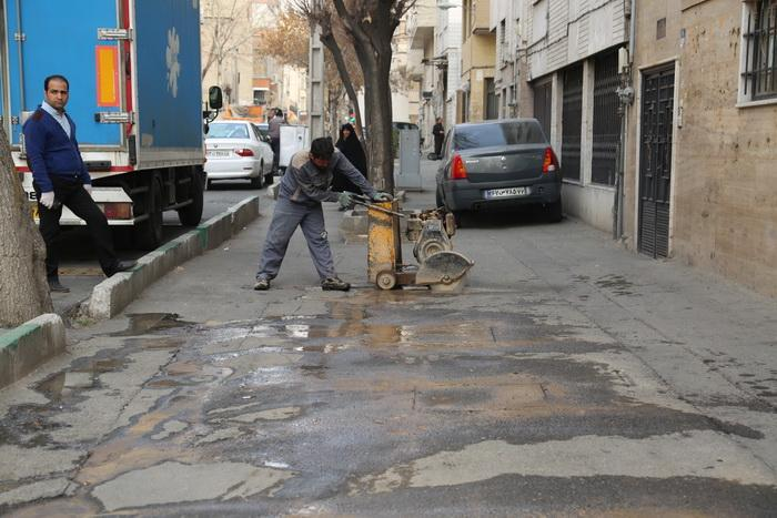 اجرای طرح نارنجستان در بافت فرسوده در محله های بافت فرسوده مرکز شهر تهران شروع شد