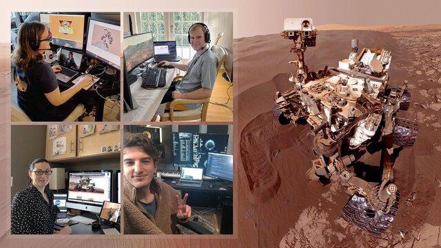 کرونا تیم کنجکاوی ناسا را خانه نشین کرد