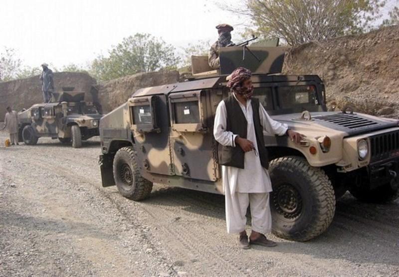 افغانستان، استقرار خودروهای طالبان برای جابجایی زندانیان از پایگاه بگرام