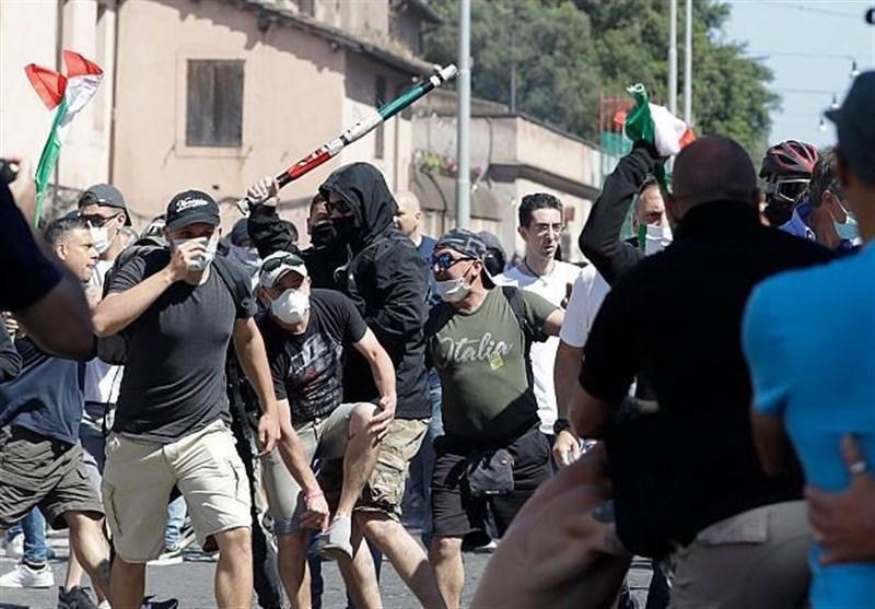 تظاهرات در رم در اعتراض به ناکارآمدی دولت ایتالیا