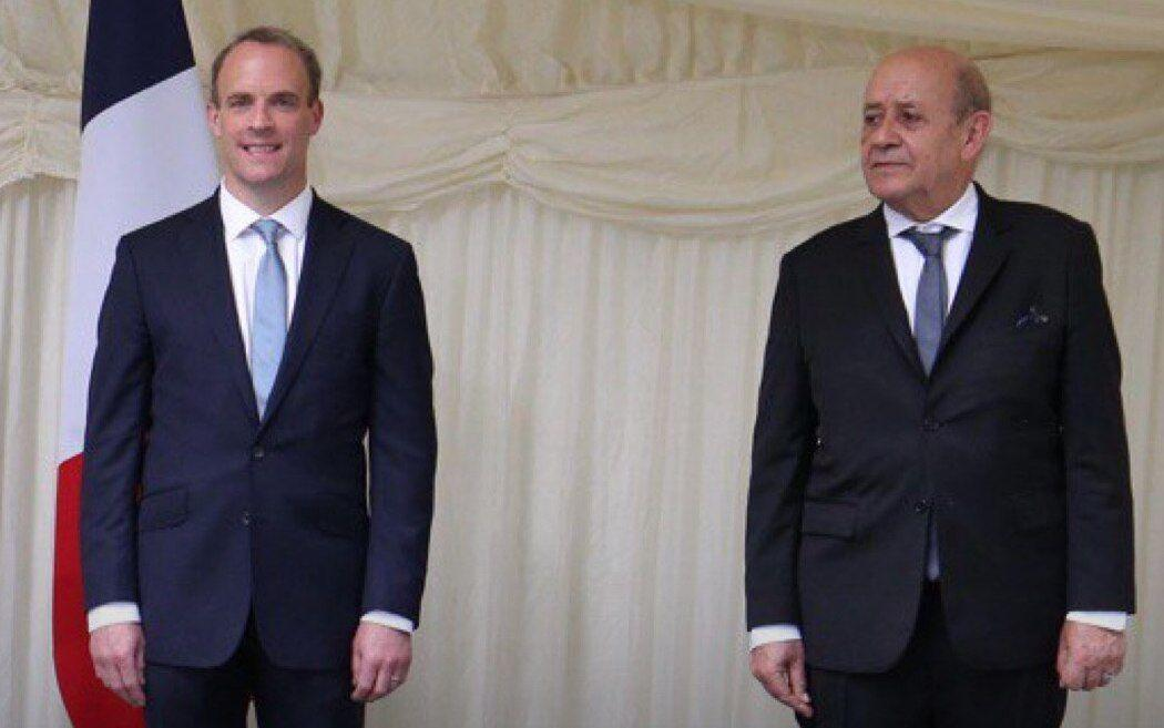 خبرنگاران رایزنی وزرای خارجه انگلیس و فرانسه درباره ایران