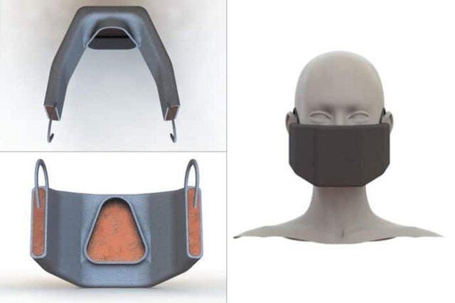 ماسکی که با ایجاد گرما ویروس کرونا را غیرفعال می کند