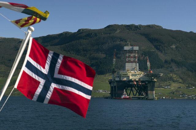صادرات گاز نروژ کاهش می یابد