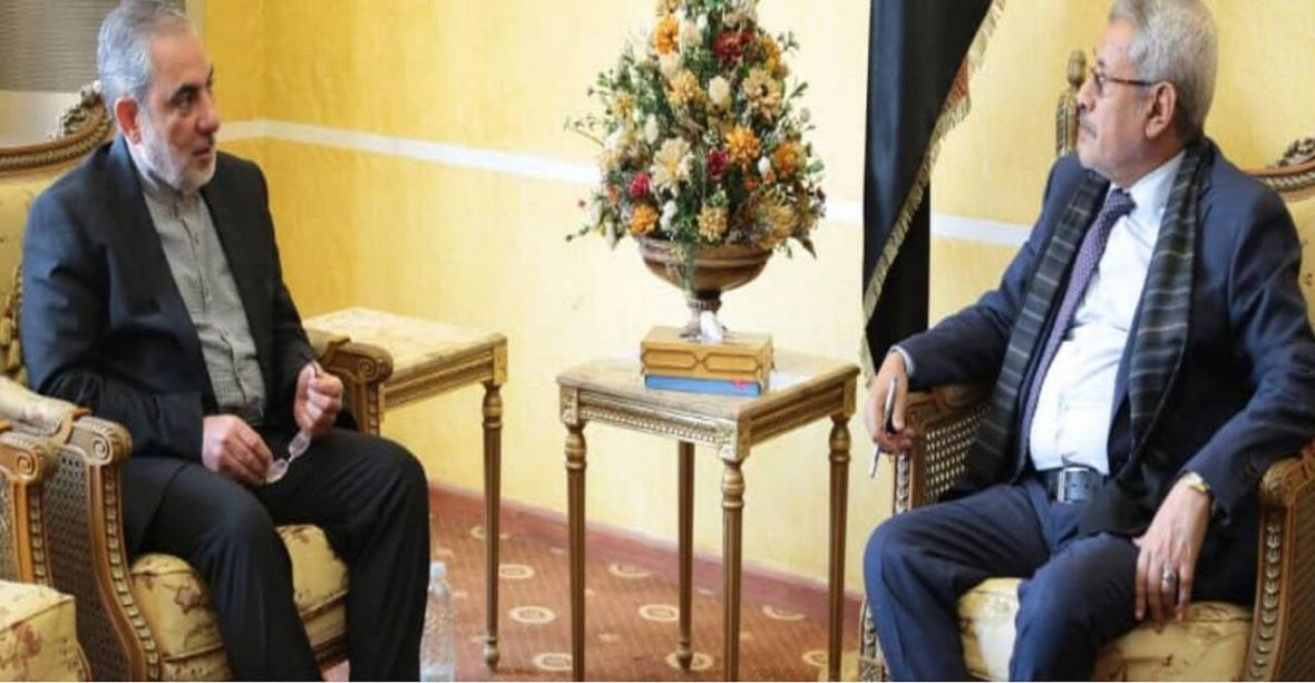 خبرنگاران سفیر ایران با وزیر آموزش عالی یمن دیدار و گفت وگو کرد
