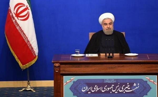 نشست خبری روحانی با خبرنگاران برگزار می شود