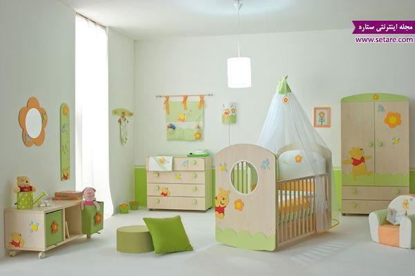 برنامه ریزی برای تزیین اتاق کودک