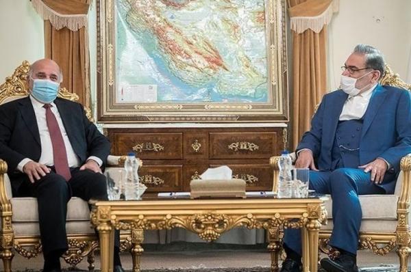 شمخانی: ایران اجازه نخواهد داد تروریسم تکفیری در منطقه احیا شود، فواد حسین: فرایند پرداخت بدهی های عراق آغاز می شود