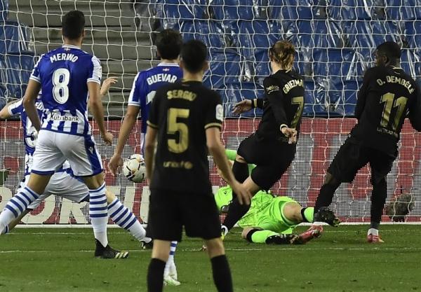 لالیگا، بارسلونا با تحقیر سوسیه داد، جای رئال مادرید را در رده دوم گرفت، مسی از رکورد ژاوی گذشت