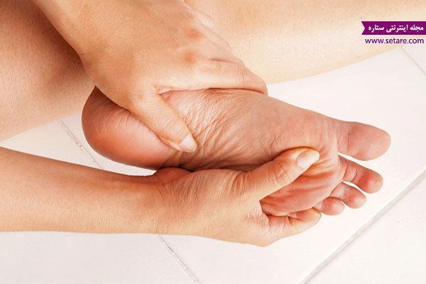 علت پا درد و درمان درد پا با طب سنتی