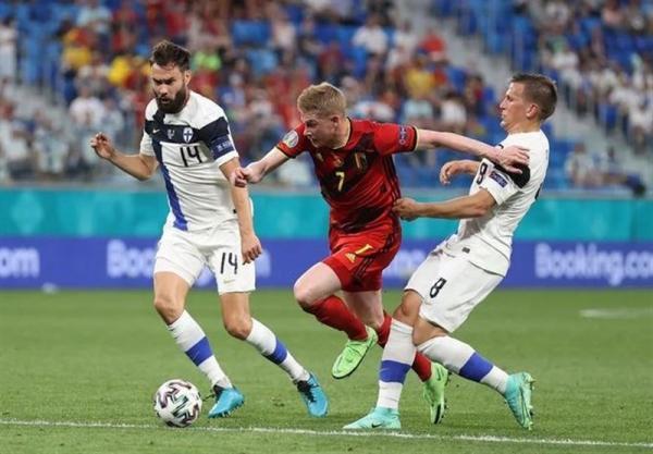 یورو 2020، دی بروینه برترین بازیکن ملاقات فنلاند و بلژیک شد