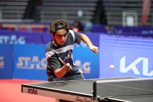 نایب قهرمانی پینگ پنگ باز 16 ساله ایران در تور جهانی پرتغال